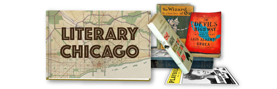 Literary Chicago Map